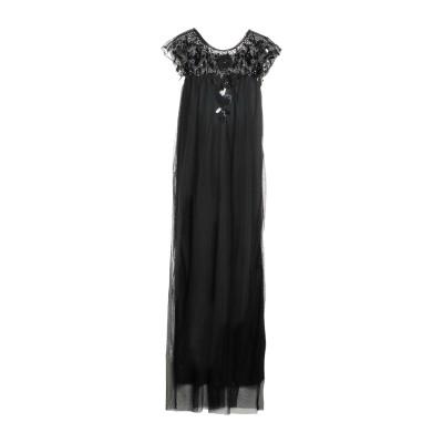 LA KORE ロングワンピース&ドレス ブラック 0 ナイロン 100% ロングワンピース&ドレス