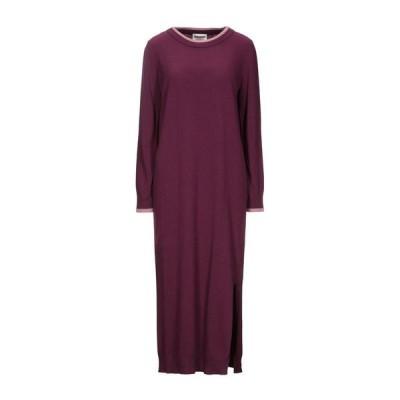 SEMICOUTURE チューブドレス ファッション  レディースファッション  ドレス、ブライダル  パーティドレス パープル