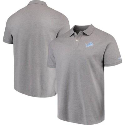 NFL ライオンズ Stretch Pique Polo ポロシャツ Vineyard Vines ヘザーグレー