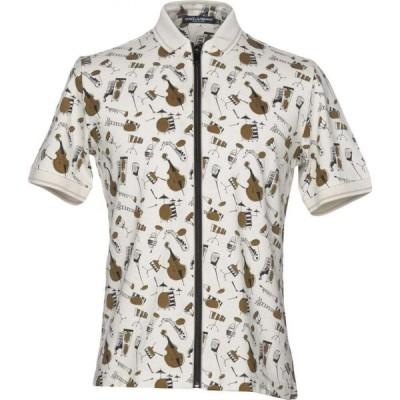 ドルチェ&ガッバーナ DOLCE & GABBANA メンズ シャツ トップス patterned shirt Ivory