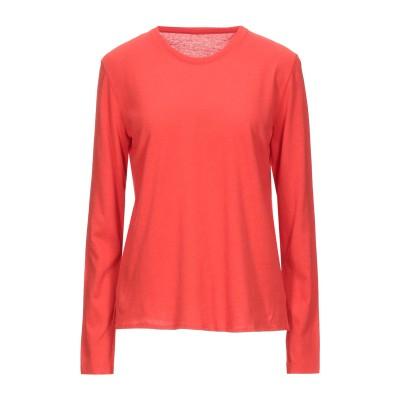 マジェスティック MAJESTIC FILATURES T シャツ レッド 1 コットン 70% / カシミヤ 30% T シャツ