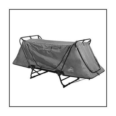 【新品】Kamp-Rite Original Tent Cot Folding Camping and Hiking Bed for 1 Person, Gray並行輸入品