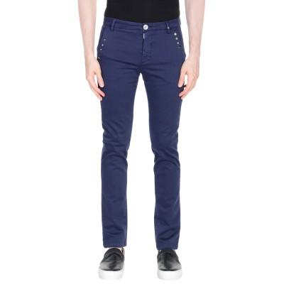 アリーニ AGLINI パンツ ブルー 28 コットン 97% / ポリウレタン 3% パンツ