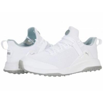 PUMA Golf プーマ ゴルフ メンズ 男性用 シューズ 靴 スニーカー 運動靴 Fusion Evo Puma White/Quarry【送料無料】