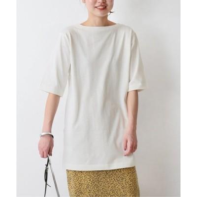 tシャツ Tシャツ 2WayオーバーラップスリットTシャツ◆