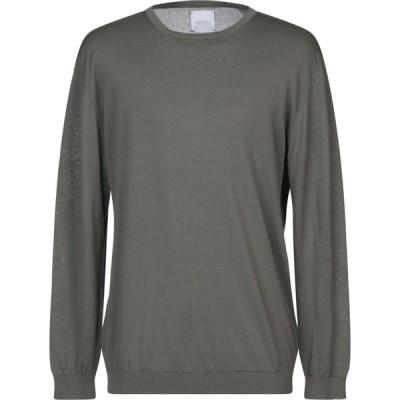 ベルウッド BELLWOOD メンズ ニット・セーター トップス sweater Military green