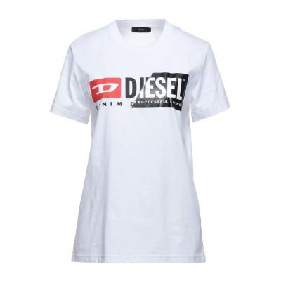 ディーゼル DIESEL T シャツ ホワイト XS コットン 100% T シャツ