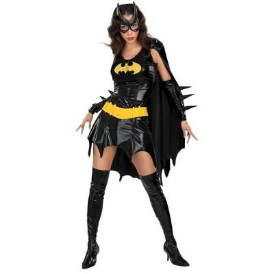 コスチューム バットマン 公式 コスプレ衣装 バットガール 大人用 コスチューム クラブ コスチューム XS