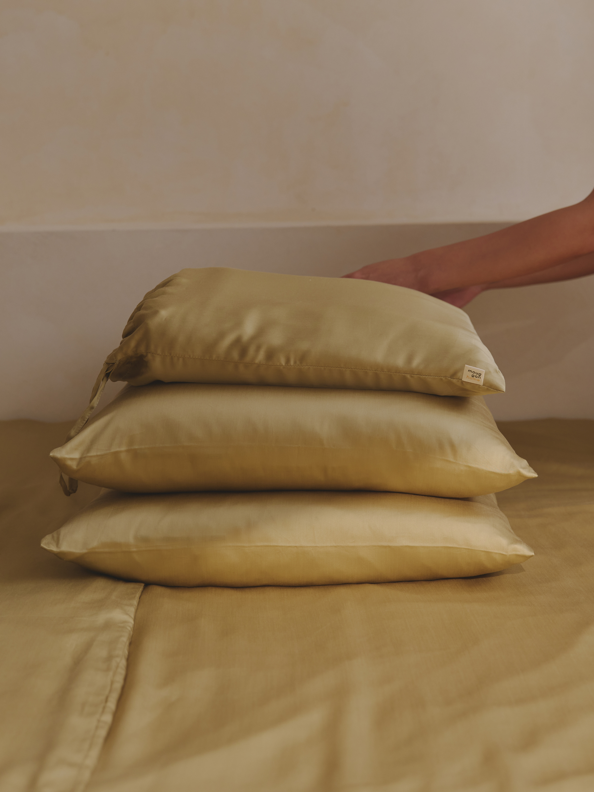 100%天絲枕套2件組 - mouggan home-mouggan