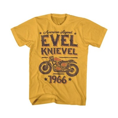 Tシャツ エベルナイベル Evel Knievel Evel Legend Licensed Adult T-Shirt