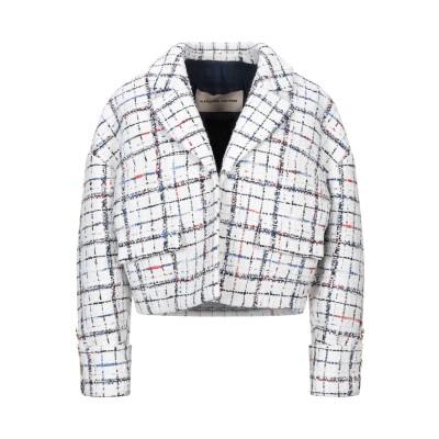 アレクサンドル・ボーティエ ALEXANDRE VAUTHIER テーラードジャケット ホワイト 36 コットン 46% / ナイロン 25% /