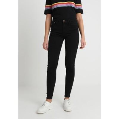 オンリー レディース デニムパンツ ボトムス ONLPAOLA - Jeans Skinny Fit - black black