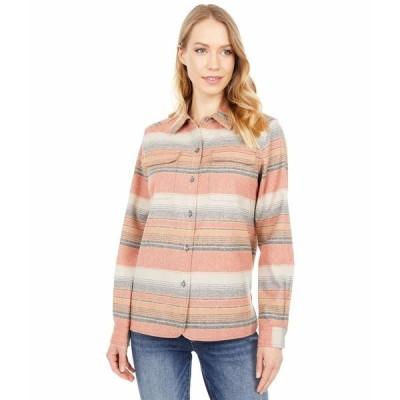 ペンドルトン シャツ トップス レディース Board Shirt - Stripe Copper Multi Stripe