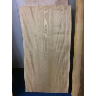 タモ 一枚板 無垢 テーブル 下塗り 1300×660 - 700×47