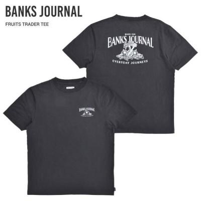 BANKS JOURNAL バンクス ジャーナル Tシャツ FRUITS TRADER S/S T-SHIRT TEE 半袖 トップス カットソー WTS0588 単品購入の場合はネコポス便発送