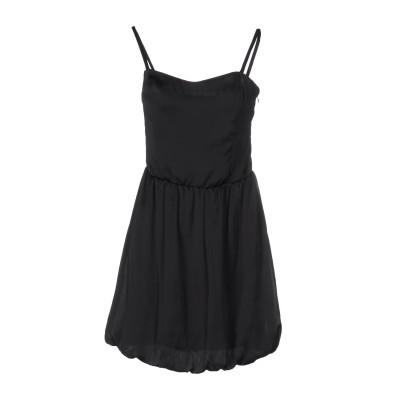 ゲス GUESS ミニワンピース&ドレス ブラック L ポリエステル 100% ミニワンピース&ドレス