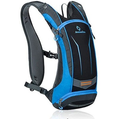 サイクリングバッグ 超軽量 自転車バックパック リュック 8L ブルー