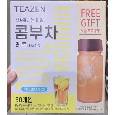 コンブチャ 5g x 30本+ボトル BTS コンブチャ レモン 韓国食品 ダイエット