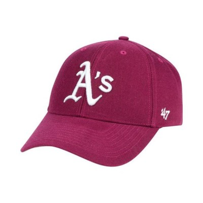 47ブランド メンズ 帽子 アクセサリー Oakland Athletics Cardinal MVP Cap