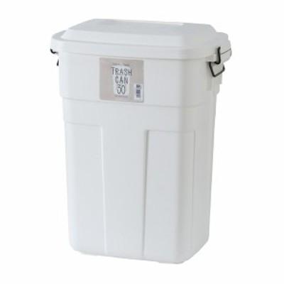 【送料無料】 トラッシュカン 30L ホイワト LFS-934WH 東谷 ごみ箱 ゴミ箱 おしゃれ【メーカー直送】【同梱不可】【代引不可】【配送地域