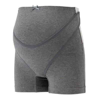 ベビーザらス限定 お手軽サポート おなかを支える妊婦帯パンツ (グレー×Mサイズ)