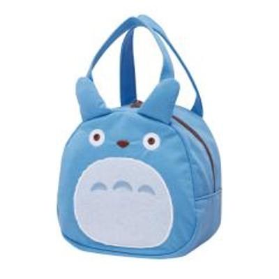 ダイカットバッグ 中トトロ となりのトトロ スエット素材 バッグ かばん キャラクター ( 子供用カバン 子供 スウェット素材 鞄 ダイカット カバン 子ども用 子供用 キッズ 持ち手付き ランチバッグ お弁当バッグ トトロ ジブリ )