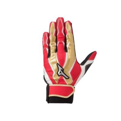 ミズノ MIZUNO ジュニア MZcomp バッティング手袋 両手用 野球 バッティング手袋