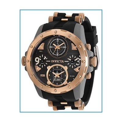 新品Invicta Men's 31969 U.S. Army Quartz Chronograph Black, Rose Gold Dial Watch【並行輸入品】