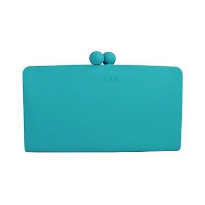 (ピージーデザイン) p+g design シリコン 財布 セパポチ ワイド SEPA-POCHI-WIDE-Turquoise0900