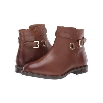 Hush Puppies ハッシュパピーズ レディース 女性用 シューズ 靴 ブーツ アンクルブーツ ショート Bailey Strap Boot - Dachshund Leather
