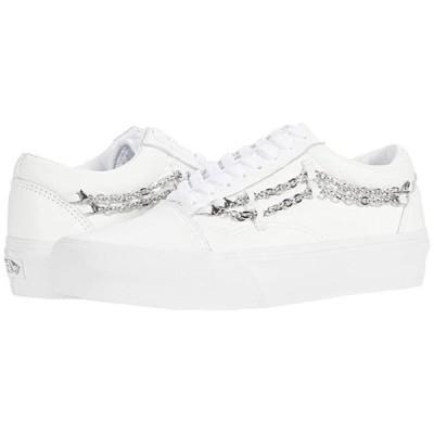 バンズ Old Skool Platform メンズ スニーカー 靴 シューズ (Chain) True White/True White
