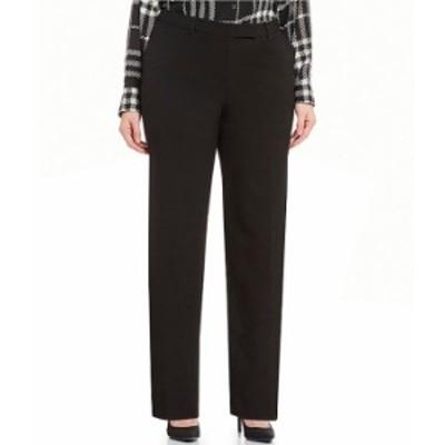 カルバンクライン レディース カジュアルパンツ ボトムス Plus Madison Straight-Leg Pants Black