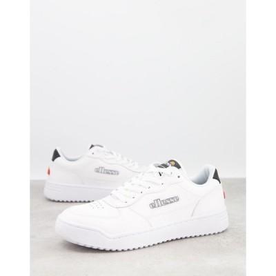 エレッセ メンズ スニーカー シューズ ellesse Varesse sneakers in white White