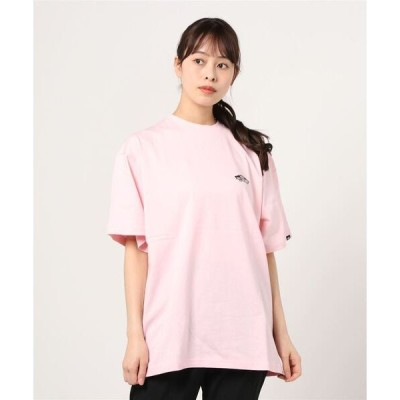 tシャツ Tシャツ VANS ヴァンズ W Small Flower Print S/Stee ショートスリーブ 121R3010500 PINK