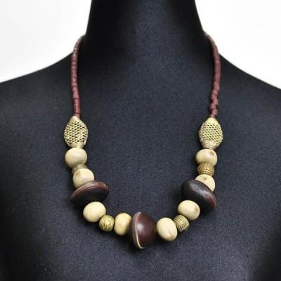 アフリカ ネックレス (エスニック ファッション アクセサリー )