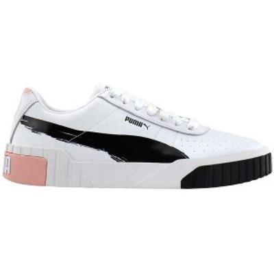 プーマ レディース スニーカー シューズ Cali x Maybelline Platform Sneakers Puma White / Puma Black