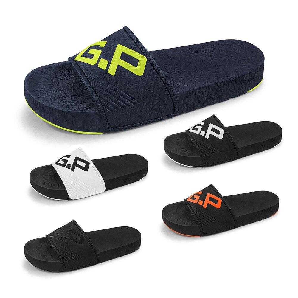 GP休閒套拖G0566M-黑色/藍色/白黑/全黑色/橘色(SIZE:L-XXL) G.P