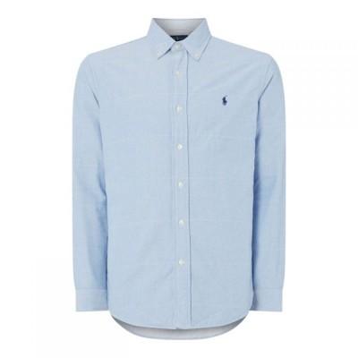 ラルフ ローレン Polo Ralph Lauren メンズ シャツ トップス Twill Long Sleeve Shirt BasicBlue/White