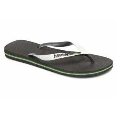 Havaianas メンズサンダル Havaianas Flip flops Brasil Mix H Black Bla