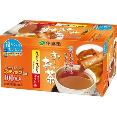 伊藤園 おーいお茶 さらさらほうじ茶 スティックタイプ (0.8g*100本)