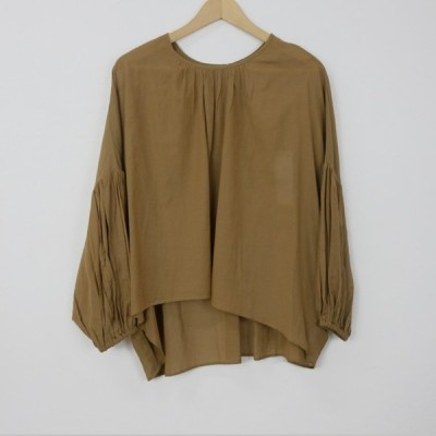 utilite | ドルマンプルオーバー (beige) | トップス