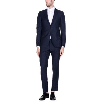 DINNER th5 スーツ ブルー 48 スーパー110 ウール 100% スーツ