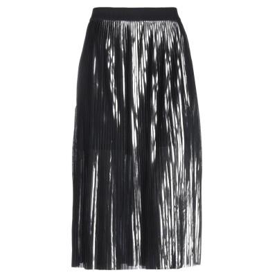 バイ・マレーネ・ビルガー BY MALENE BIRGER 7分丈スカート ブラック L ポリエステル 100% 7分丈スカート