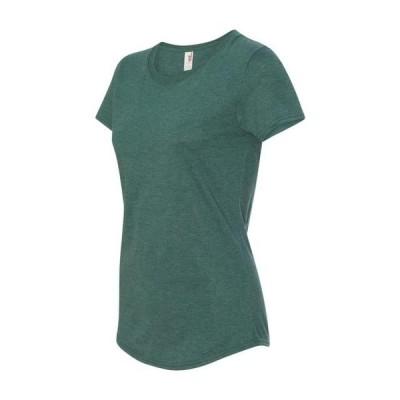 レディース 衣類 トップス Anvil - Women's Triblend T-Shirt - 6750L Tシャツ