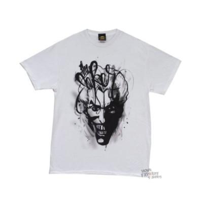 Tシャツ DCコミックス Batman The Joker Wild Spray DC Comics Licensed Adult T Shirt