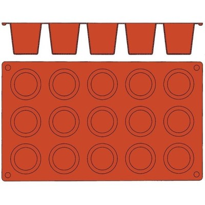 bourgeat EBM-8552200 ガストロフレックス ダリオール(1枚)2579.40(15ヶ取) (EBM8552200)