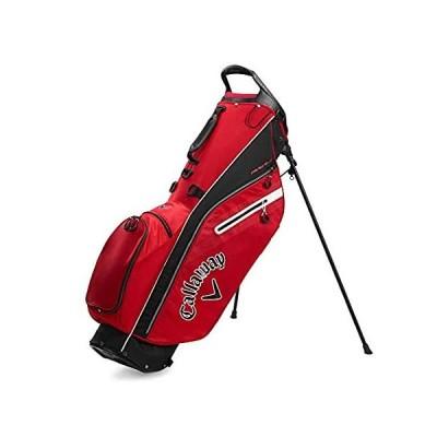 Callaway Golf 2020 フェアウェイ C スタンドバッグ (レッド/ブラック/ホワイト、ダブルストラップ)