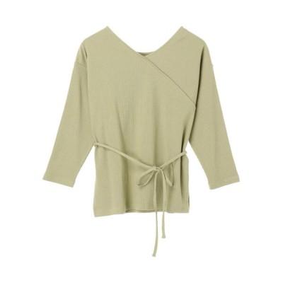 Green Parks / 2Wayデザインカットプルオーバー* WOMEN トップス > Tシャツ/カットソー