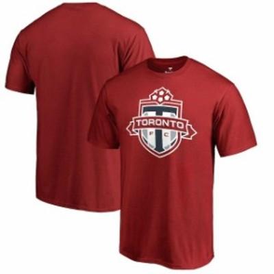Fanatics Branded ファナティクス ブランド スポーツ用品  Fanatics Branded Toronto FC Red Primary Logo T-Shirt