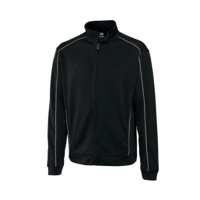 ゴルフウェア カッター バック CUTTER   BUCK DryTec edge full ジップ 長袖 ジャケット XXXB(ブラック)